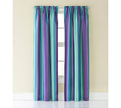 rainbow ombre faux silk curtain panel curtain pinterest faux