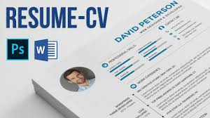 Edit Resume Resume Cv How To Edit And Use Photoshop And Microsoft Word