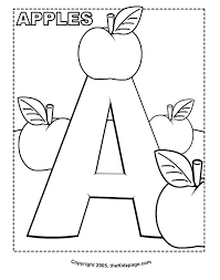 enjoyable letter a coloring pages for toddlers 33 best images