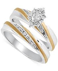 marriage rings sets bridal set womens engagement and wedding rings macy s