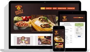 restaurant website design with online ordering u0026 table