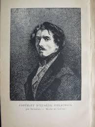 Delacroix Meme - g dargenty eugène delacroix par lui même 1885 catawiki