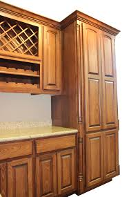 Kitchen Cabinets Tall Cabinet Bump Up Or Out Burrows Cabinets Central Texas Builder