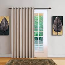 Patio Door Curtain Warm Home Designs 102 Wide Ivory Room Dividers Patio Door