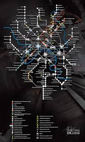 Metro 2033 Map by