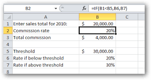 Sales Commission Excel Template Vlookup In Excel Part 2 Vlookup Without A Database