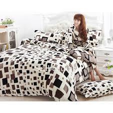 best duvet designer unique best black and white box patterned flannel duvet