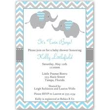 themes cheap twin boy baby shower invitations with twin boy baby