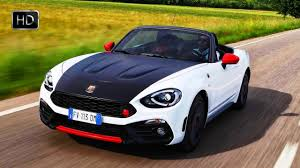 fiat roadster 2017 fiat 124 spider matte black hood abarth u0027s racing anti glare