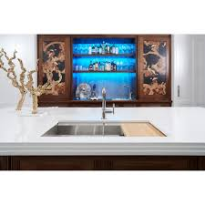 Kohler Purist Kitchen Faucet Kohler K 7505 Sn Purist Vibrant Polished Nickel Pullout Spray