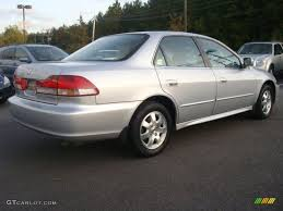 2002 silver honda accord satin silver metallic 2002 honda accord ex sedan exterior photo