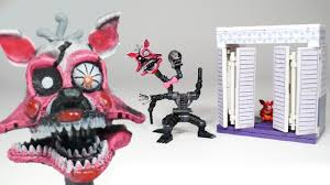 fnaf nightmare mangle with the closet mcfarlane toys lego