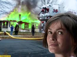 Cersei Lannister Meme - burning house cersei lannister meme game of thrones starecat com