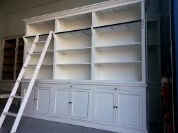 functional bookcase with ladder for contemporary look u2014 optimizing