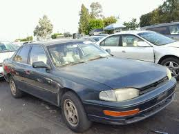 1993 toyota camry for sale jt2sk12e9p0181555 1993 green toyota camry on sale in ca
