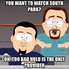 Nice Meme South Park - south park cable company meme generator