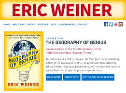 eric weiner authorsontheweb