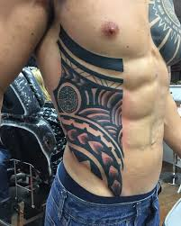 cool rib tattoos for and guys rib cage