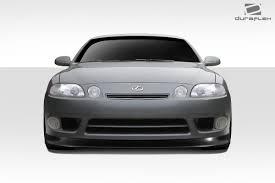 lexus sc300 body kit duraflex sc300 sc400 v speed front bumper lip body kit 1 pc for lexus