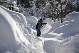 Worst Snowstorm In History by Winter Storm Jonas Update New Jersey New York Shovel Snow As