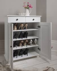 shoe storage shoet uk hemnes with compartments white 107x101 cm