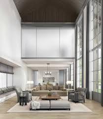 living room sleek sofas also leather armchair plus floor to beige