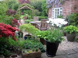 courtyard garden design for your home beautification with