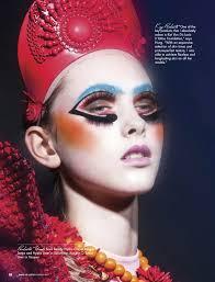 magazines for makeup artists lizbell agency makeup artist magazine featuring lb