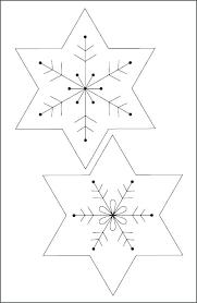 templates for snowflakes printable snowflake patterns easy snowflakes template to print free