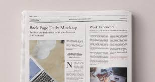 pattern newspaper photoshop daily newspaper psd mockup psd mock up templates pixeden