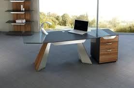 Oak Corner Computer Desk Wood Desk With Filing Cabinet Upandstunning Club