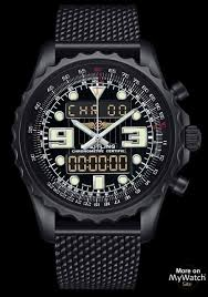 breitling steel bracelet images Watch breitling chronospace blacksteel professionnal black steel jpg