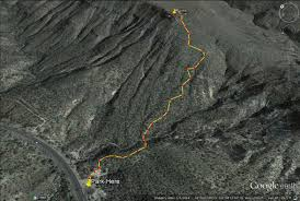 The Wave Arizona Map by On A Hike The Black Mesa Indian Ruins Arizona