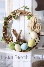 easter wreath easter wreath tutorial iris nacole