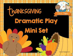 thanksgiving dramatic play printables