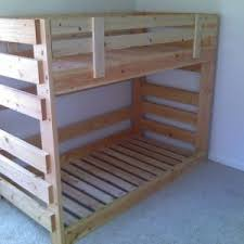 Ana White Bunk Bed Plans by Beautiful Twin Bunk Bed Plans Wagon Wheel Spindles Design