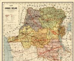 physical map of belgium map of the belgian congo world digital library