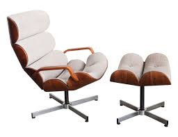 Armchairs And Ottomans George Mulhauser Plycraft Chair And Ottoman Mid Century Modern