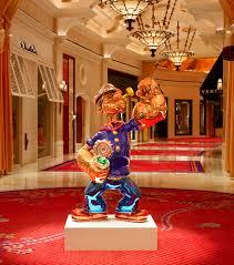 Buffet At The Wynn by Wynn Las Vegas Welcomes Popeye By Renowned Artist Jeff Koons