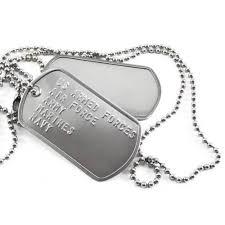steel dog tag necklace images Custom military dog tags order design online logotags jpg