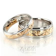 wedding bands on which does the wedding band go on the fashionbrides