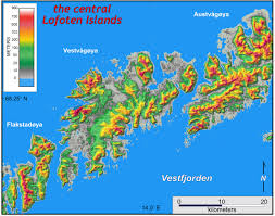 Norway World Map by Skerries And Moraines W U0026m Geology In Norway The William U0026 Mary