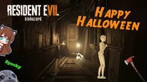 halloween 2016 re7 funny moments youtube