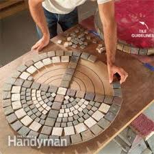 ceramic tile table top build an outdoor table with tile top and steel base family handyman