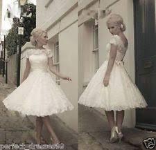 cap short sleeve wedding dresses ebay