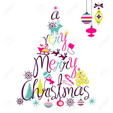merry text designs happy holidays