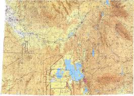 Utah Topo Maps by Download Topographic Map In Area Of Salt Lake City Provo Boise