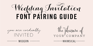 free fonts for wedding invitations font pairing archives elegance enchantment