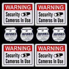 Hi Brinks Burglar Buster 2 Security Yard Sign Brinks Home Security Equipment Ebay