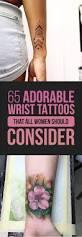65 adorable wrist tattoos all women should consider tattooblend